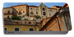 Portable Battery Charger featuring the photograph Arpino Colors by Dany Lison