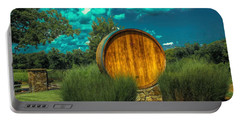 Arrington Vineyards Barrel Portable Battery Charger