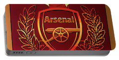 Arsenal London Painting Portable Battery Charger