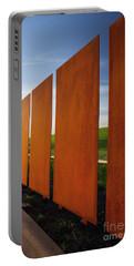 Art And The Horizon, Dallas Texas Portable Battery Charger