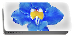 Art Blue Beauty Portable Battery Charger