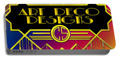 Art Deco Designs Portable Battery Charger