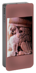 Portable Battery Charger featuring the photograph Art Deco Griffin Circa 1925 by Peter Gumaer Ogden