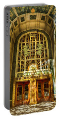 Art Deco Marine Building Portable Battery Charger