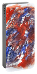 Art Doodle No. 28 Portable Battery Charger