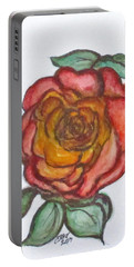 Portable Battery Charger featuring the mixed media Art Doodle No. 30 by Clyde J Kell