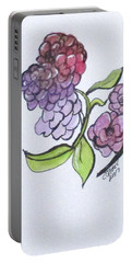 Portable Battery Charger featuring the painting Art Doodle No. 4 by Clyde J Kell