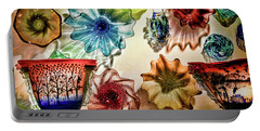 Art Glass Portable Battery Charger