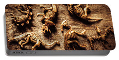 Art In Palaeontology Portable Battery Charger