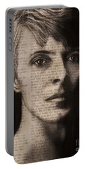Art In The News 78-bowie Portable Battery Charger