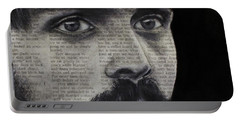 Art In The News 95-steve Prefontaine Portable Battery Charger