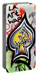 Portable Battery Charger featuring the photograph Art Is War by Art Block Collections