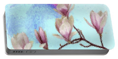 Art Magnolia Portable Battery Charger