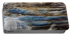 Art Print Cliff 1 Portable Battery Charger