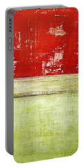 Art Print Rotgelb Portable Battery Charger