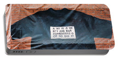 Art Shirt Portable Battery Charger
