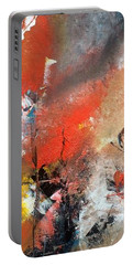 Portable Battery Charger featuring the painting Art Work by Sheila Mcdonald