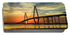 Arthur Ravenel Jr. Bridge - Charleston Sc Portable Battery Charger