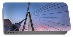 Arthur Ravenel Jr. Bridge Light Trails Portable Battery Charger