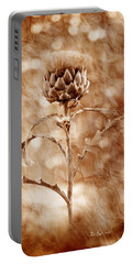 Artichoke Bloom Portable Battery Charger