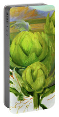 Artichoke  Unfinished Portable Battery Charger
