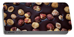 Portable Battery Charger featuring the photograph Artisanal Chocolate Closeup by Elena Elisseeva