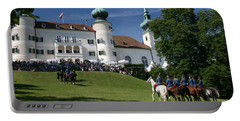 Artstetten Castle In June Portable Battery Charger