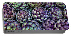 Artsy Artichokes Portable Battery Charger