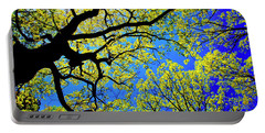 Artsy Tree Canopy Series, Early Spring - # 01 Portable Battery Charger