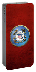 U. S. Coast Guard - U S C G Emblem Portable Battery Charger