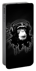 Monkey Business - Black Portable Battery Charger