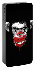 Evil Monkey Clown Portable Battery Charger