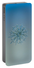 Snowflake Photo - Twelve Months Portable Battery Charger