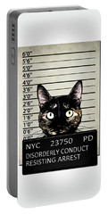 Kitty Mugshot Portable Battery Charger
