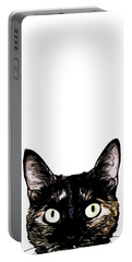 Peeking Cat Portable Battery Charger