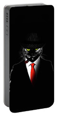 Mobster Cat Portable Battery Charger
