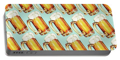 Beer Pattern Portable Battery Charger