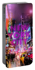 New York City - Color Portable Battery Charger