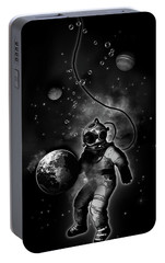 Deep Sea Space Diver Portable Battery Charger by Nicklas Gustafsson