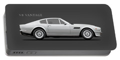 The Aston V8 Vantage Portable Battery Charger
