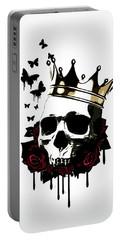 El Rey De La Muerte Portable Battery Charger