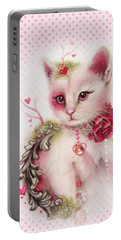 Love Is In The Air Portable Battery Charger by Sheena Pike