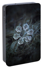 Portable Battery Charger featuring the photograph Icy Jewel by Alexey Kljatov