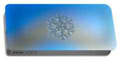 Snowflake Photo - Gardener's Dream Portable Battery Charger by Alexey Kljatov