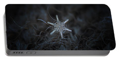 Snowflake Photo - Steering Wheel Portable Battery Charger