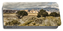 Great Sand Dunes National Park And Preserve Portable Battery Charger by Bill Kesler