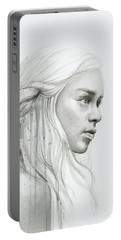 Daenerys Mother Of Dragons Portable Battery Charger