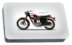 Triumph Bonneville 1970 Portable Battery Charger by Mark Rogan