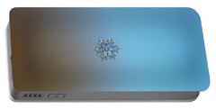 Snowflake Photo - Flying Castle Portable Battery Charger