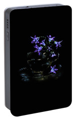 Portable Battery Charger featuring the photograph Bluebells by Alexey Kljatov